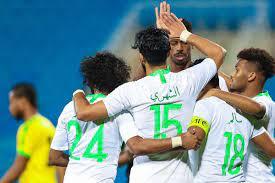 موعد مباراة المنتخب السعودي ضد جامايكا والقنوات الناقلة