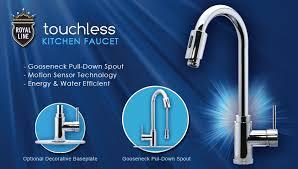 motion sensor faucet. Motion Sensor Kitchen Faucet Invigorate Touchless Royal Line And Also 9 R