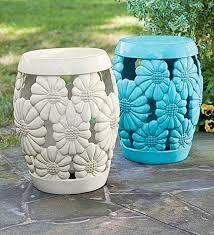 ceramic garden stools the perfect