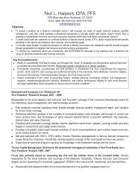 Cpa Resume Sample 2016 Writing Resume Sample Writing Resume Sample
