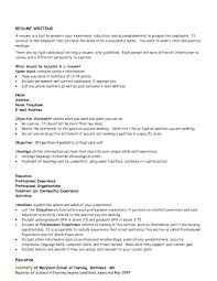 Professional Objective For Nursing Resume Nurse Educator Resume
