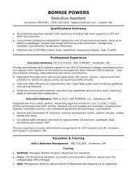 Sample Resume Profile Administrative Assistant Save Executive