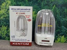Đèn sạc chiếu sáng khẩn cấp Kentom KT 2300PL (Trắng)