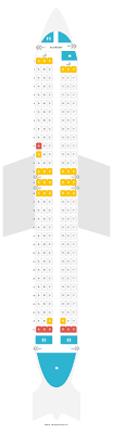 Boeing 737 700 Winglets Seating Chart Seat Map Boeing 737 800 738 Transavia Airlines Find The