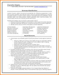 Hr Generalist Resume Examples Human Resources Write Memorandum