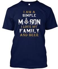Интернет-магазин Мужская футболка I Am A <b>Simple</b> Mason <b>Love</b> ...