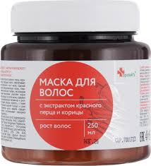 <b>Маска для волос</b> Apotek's, с экстрактом <b>красного</b> перца и корицы ...