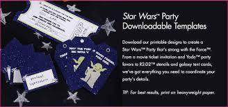 star wars birthday invite template star wars birthday invites templates simple image gallery