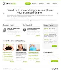 Simple Profile Business Css + Xhtml Page Templates Five - Website ...