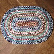 oval braided rugs target