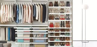 Walk in closet Minimalist Shop This Space The Container Store Walk In Closets Ideas Designs For Walk In Closets