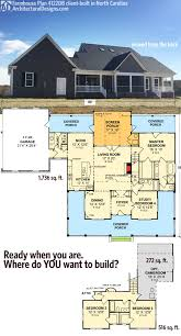 plan 4122wm country home with marvelous porches farmhouse entrancing house plans screened porch