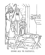 Christmas Bible The Christmas Story Coloring Pages Bible Printables