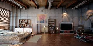 industrial look office interior design. Represent Mechanical Details In Your Industrial Style Office: Look Office Interior Design