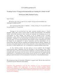 Invitation Letter For Us Business Visa Application