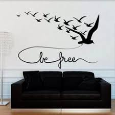 wall decal decor decals sticker art bird seagull flight swallow inscription be free bedroom m1207 on islamic vinyl wall art south africa with wall decal decor decals art arab persian islam skyline mosque palace