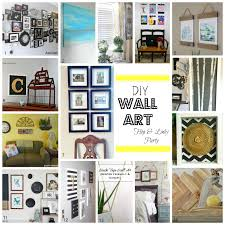 15 easy diy wall art projects