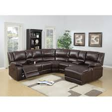 leather reclining sectional. Exellent Leather Quickview Intended Leather Reclining Sectional Wayfair