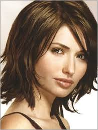 Long Bob Hairstyles With Layers And Bangs L