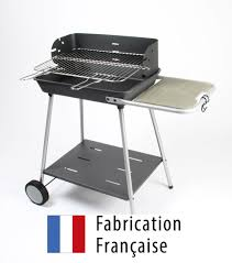 Barbecue Charbon De Bois Excel Grill Somagic Cuve Fonte 54 5x40 Cm