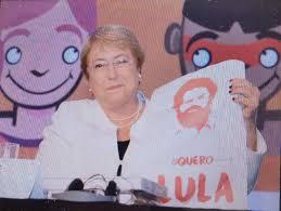 Resultado de imagen para Michelle Bachelet, Lula y Chavez