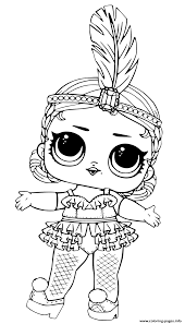 Lol Surprise Doll Coloring Pages Printable For Neuhneme