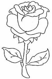 Small Picture Rose Coloring Pages Images Coloring Pages Flowers Single Rose