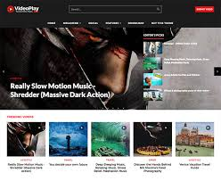 Videoplay Video Blogger Template Installation Shop Oddthemes