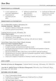 Military Resume Format Impressive Resume Format Military Veteran Examples Orlandomovingco