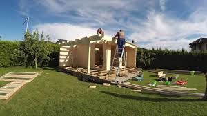 build a garden. Simple Garden How To Install Build A Log Cabin Summer House Garden Room Garden  Office  YouTube Throughout Build A N