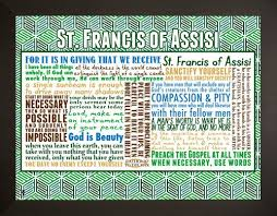 Francis Of Assisi Quotes Magnificent Saint Francis Of Assisi Quote Poster