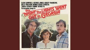 The Night The Lights Went Out In Georgia Lyrics Youtube The Night The Lights Went Out In Georgia