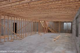 framing a home basement how to build