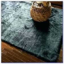 black faux fur rug black faux sheepskin rug fur cool large um size of area gray