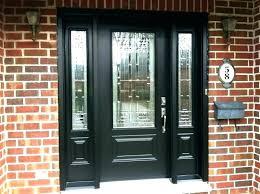 fiberglass door with sidelights entry door with single sidelight single door with sidelights doors inspiring black front door with sidelights entry door