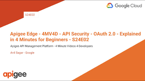 Apigee Edge 4mv4d Api Security Oauth 2 0 Explained In 4 Minutes For Beginners S24e02