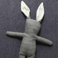 Free Bunny Pattern Template Interesting Inspiration Design