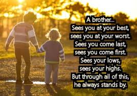 Brotherly Love Quotes Impressive 48 Memorable Brother Quotes To Show Your Appreciation BayArt