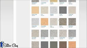 Expo Stucco Color Charts Navigating Expos Website