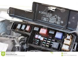 the fuse box under the hood stock photo image 58838186 the fuse box under the hood