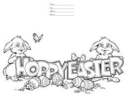 Happy Easter Coloring Pages Warm Page Country Victorian Times As