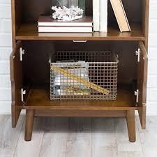 mid century modern bookshelf. Belham Living Carter Mid Century Modern Bookcase Bookshelf