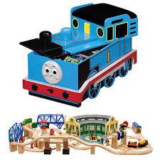 thomas wooden train storage seat designs