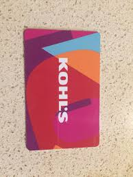 kohls gift card 1 of 1only 1 available