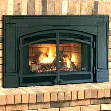 natural gas fireplace insert with er s vent free kit natural gas fireplace insert