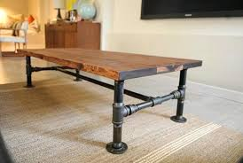 industrial coffee table with wheels image of rustic industrial coffee table ottoman diy industrial coffee table