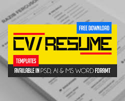 Professional Cv Free Download Fresh Free Professional Cv Resume Templates Freebies