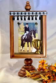 horse frame with necklace horse shadow box horse lover gift personalized horse photo frame horse sympathy gift over the rainbow us by overtherainbowus