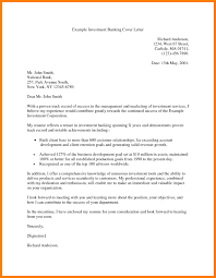 Cover Letters Letter Sample Personal Banker New Examples Address