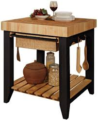 excellently prodigious butcher block cart on wheels powell color story black butcher block kitchen island